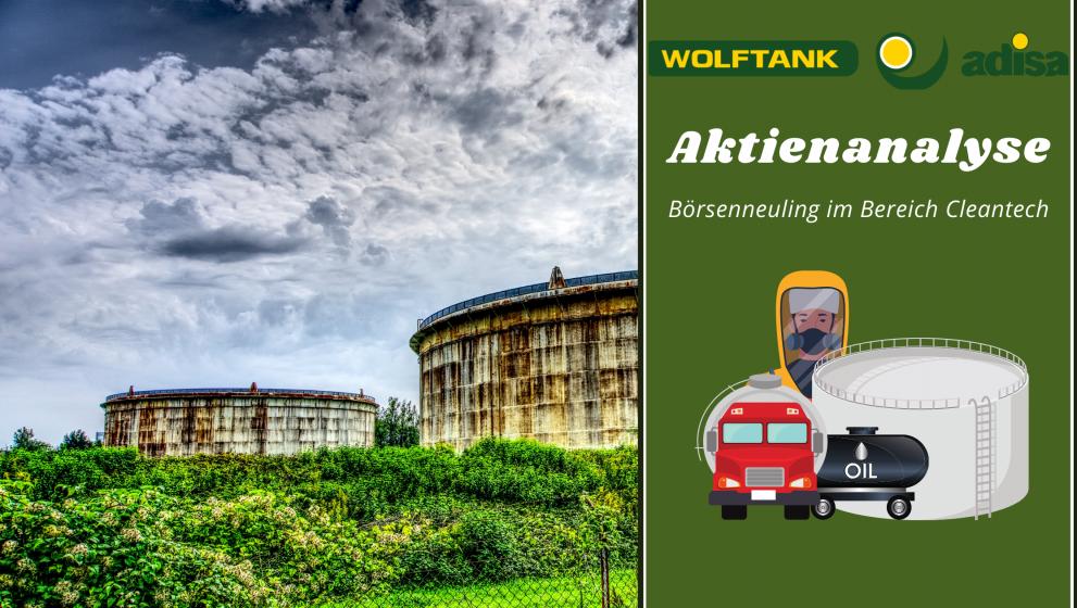 Wolftank-Adisa: Börsenneuling im Bereich Cleantech