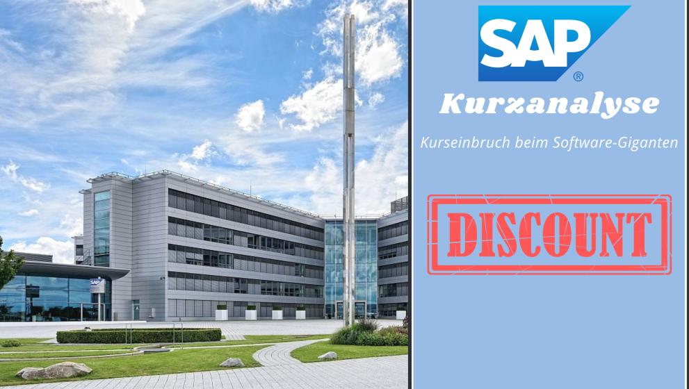 SAP SE: nach Kurssturz jetzt investieren?